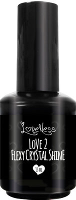 LoveNess | Flexy Crystal Shine(Soakable) 15ml