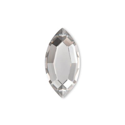 Swarovski Flat Backs 8 x 4mm Crystal Navette 6 stks.