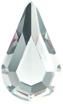 Swarovski Flat Backs 8x4,8mm Crystal Drop 6 stks. (11)