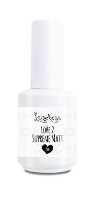 Loveness | Love 2 Supreme Matt 15ml
