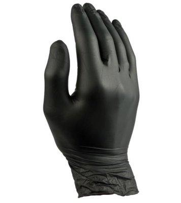 Nitril Black Gloves 'M' 100pcs