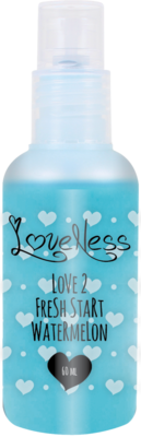 LoveNess | Love 2 Fresh Start Watermelon 60ML Spray