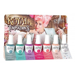 Gelish | Royal Temptations 7PC COUNTER DISPLAY