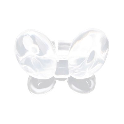 Color Pop Bottle Ring Butterfly Clear 50 stks.