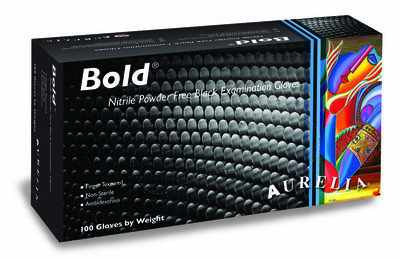 Aurelia Bold Nitril Gloves 'M' 100pcs